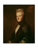 Mrs Clarges Giclee Print by Allan Ramsay