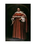 Portrait of Sir Matthew Hale Kt (1609-76) Chief Justice of the King's Bench, 1670 Giclee Print by John Michael Wright