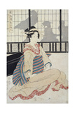 Seated Courtesan Giclee Print by Kikugawa Toshinobu Eizan