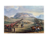 The Conference at Block Drift, Kaffirland, on 30th June 1846 Giclee Print by Henry Martens