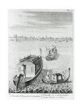 Approaching Venice by Water from Padua, from 'some Observations Made in Travelling Through… Giclee Print
