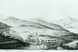 The Spanish Settlement of Presidio at San Francisco, from 'Voyage Pittoresque Autour Du Monde' by… Photographic Print by Ludwig Choris