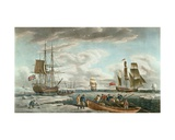 The Greenland Whale Fishery, Published by John and Josiah Boydell, 1789 Giclee Print by Robert Dodd