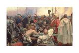 Zaporozhye Cossacks, 1880-91 Giclee Print by Ilya Efimovich Repin