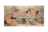 Reading Aloud, 1884 Giclee Print by Albert Joseph Moore