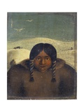 Portrait of Arua-Loo, 1822 Giclee Print by Captain George Francis Lyon