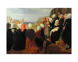 Blessing of the Sea Giclee Print by Alphonse Legros