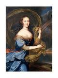 Francoise-Athenais De Rochechouart De Mortemart (1640-1707) Marquise of Montespan, as Iris Giclee Print by Louis Ferdinand Elle