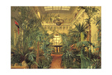 Winter Garden in the Winter Palace, St. Petersburg, 1840 Giclee Print by Michail Ivanovich Antonov