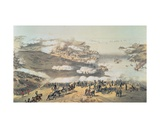 The Siege of Sevastopol During the Crimean War (1854-56) Giclee Print by Vincent Brooks