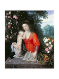 Virgin and Child in a Landscape Giclee Print by  Jan Brueghel and Peter Paul Rubens