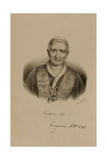 Pope GregoryXVI (1761-1846) Giclee Print by Francois Seraphin Delpech