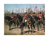 The Viceroy's Bodyguard, Printed in 'Our Armies' by Emrik and Binger, Published 1890 Giclee Print by Richard Simkin