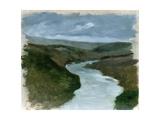 Landscape from the Dniepr River, C.1878-89 Giclee Print by Henryk Hipolit Rodakowski