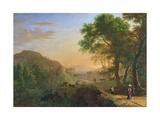 Setting Sun, Italy Giclee Print by Herman Van Swanevelt
