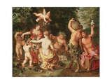 An Allegory of Abundance Giclee Print by  Jan II Brueghel and Hendrik van Balen