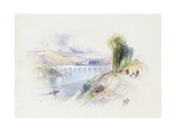 The River Schuykill Giclee Print by Thomas Moran