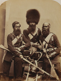 Nunn, Potter and Deal, Coldstream Guards Photographic Print by  Joseph Cundall and Robert Howlett