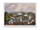 The Battle of Quatre Bras on 16th June, 1815, Engraved by Thomas Sutherland, 1815 Giclee Print by William Heath