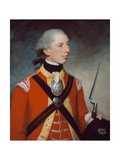 Captain Thomas Hewitt, 10th Regiment of Foot, 1781 Giclee Print by William Tate