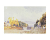 Brussels from the Paris Road, 1831 Giclee Print by Thomas Shotter Boys