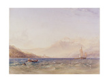 The Head of Loch Fyne, with Dindarra Castle, 1850 Giclee Print by Anthony Vandyke Copley Fielding