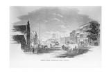 Market Street, Wilmington, North Carolina, 24th February, 1855 Giclee Print