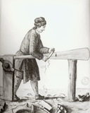An Oar-Maker from the Venetian Arsenal Photographic Print by Jan van Grevenbroeck