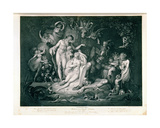 A Midsummer Night's Dream, Act IV, Scene I, 1803 Giclee Print by Henry Fuseli