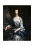 Portrait of a Lady, Thought to Be Eleanor Verney (1710-25) Giclee Print by Charles Jervas