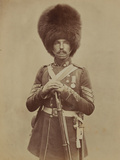 Sergeant William Powell, Grenadier Guards Photographic Print by  Joseph Cundall and Robert Howlett