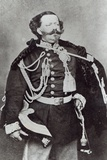 Portrait of Vittorio Emanuele, King of Sardinia and Italy Photographic Print by Andre Adolphe Eugene Disderi