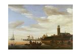 Haarlem, 1667 Giclee Print by Salomon van Ruisdael or Ruysdael
