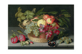 Still Life with a Basket of Fruit, 1627 Giclee Print by Johannes Bosschaert