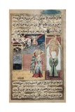 The Archangel Gabriel Inspiring Mohammed in the Mosque of Medina Giclee Print