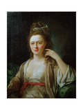Portrait of a Lady Giclee Print by Nathaniel Hone