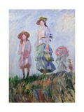 The Walk (Sketch) 1882 Giclee Print by Claude Monet