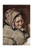 A Newlyn Fish Wife, 1894 Giclee Print by Walter Langley