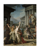 Virginius About to Kill His Daughter, 1783 Giclee Print by Nicolas Guy Brenet
