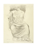 Study of Sculpture: from the Elgin Marbles Giclee Print by James Ward