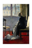 The Red Carpet, 1889 Giclee Print by Lesser Ury