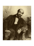 Henry Murger (1822-61) Giclee Print by Paul Gavarni
