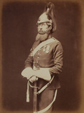 Sergeant-Major Bailey, 1st Royal Dragoon Guards Photographic Print by  Joseph Cundall and Robert Howlett