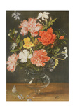 Still Life of Carnations and Other Flowers Giclee Print by Jan Brueghel the Younger