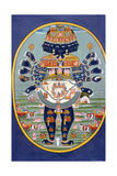 Tantra Painting (Miniature) Giclee Print
