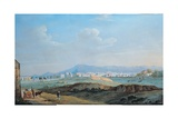 View of the City of Palermo from the Piano Della Consolazione Giclee Print by Jacob-Philippe Hackert