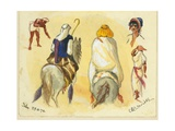 Jeba, 1872 Giclee Print by Claude Conder