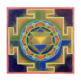 Yantra Painting Giclee Print
