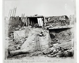 An Embrasure after the Assault at North Taku Fort, During the Second China War, 1860 Photographic Print by Felice Beato