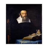 Portrait of Rabbi Jacob Ben Aaron Sasportas Giclee Print by Isaac Luttichuys